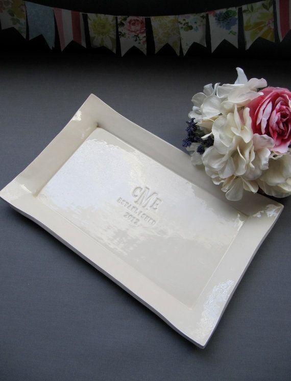Custom Wedding Signature Guestbook Platter