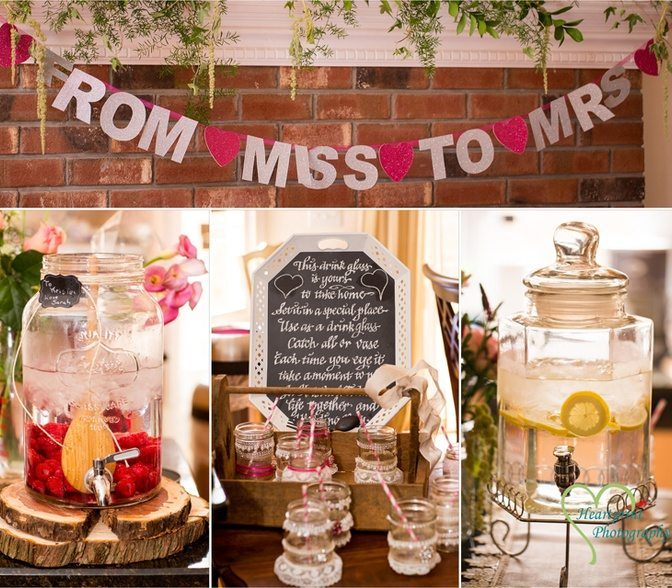 hosting a bridal shower