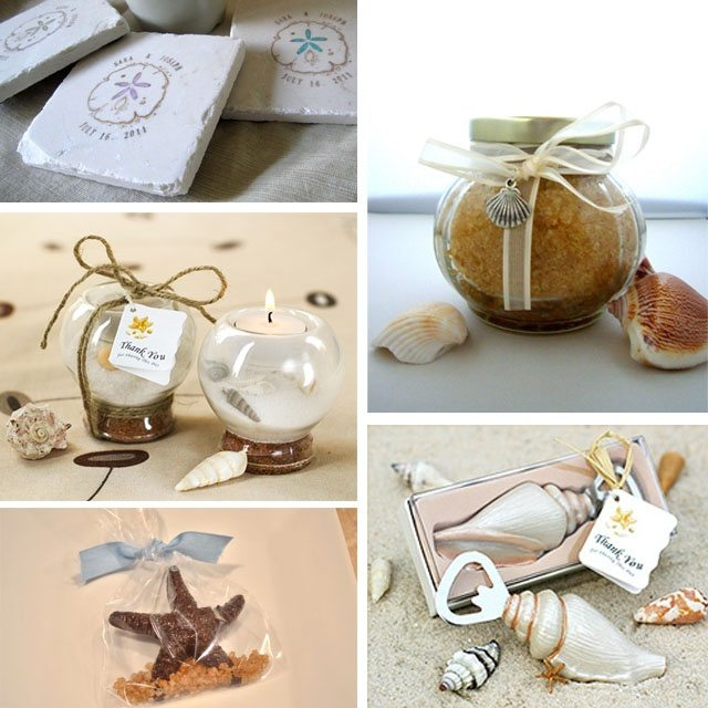 beach themed favors