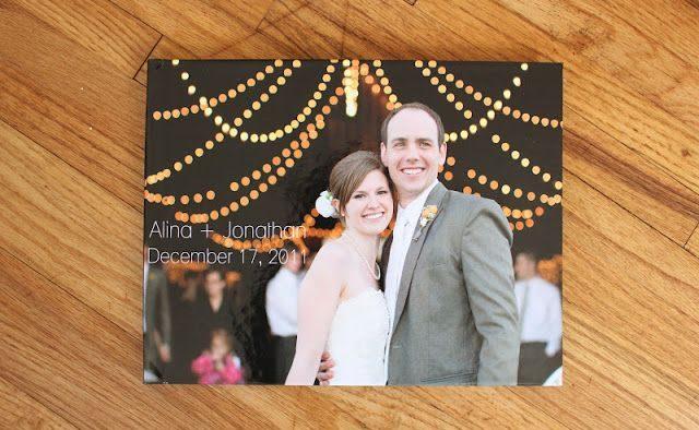 diy wedding album
