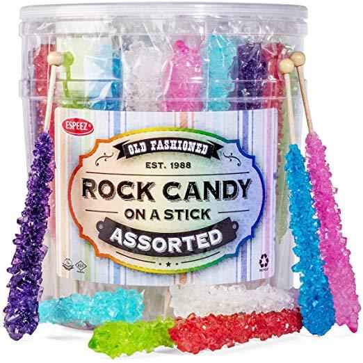 Extra Large Rock Candy Sticks