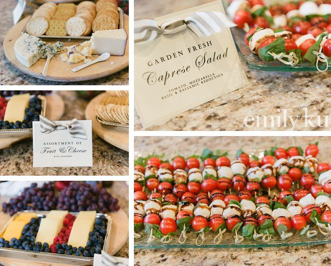 food theme bridal party