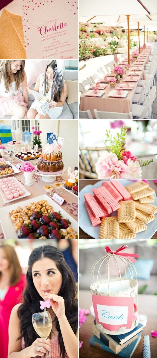 garden party bridal shower