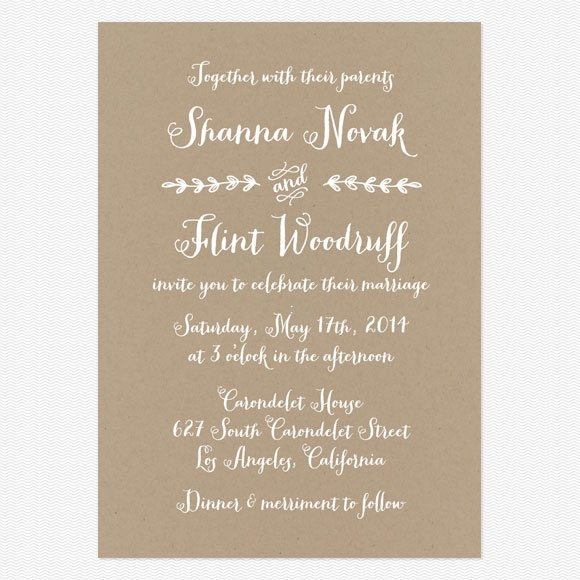 How To Word Wedding Invitations | Your Guide To Wedding Invitation Wording And Etiquette