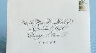 Wedding Invitations and Envelopes