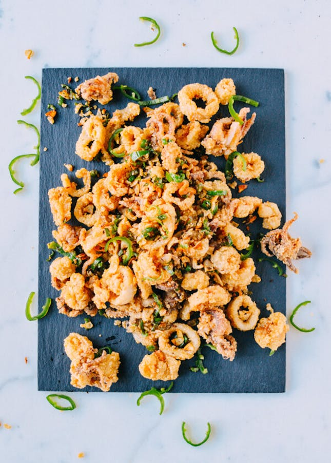 Salt & Pepper Squid from