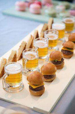 Serving Finger Foods | Wedding Reception Meal Planning
