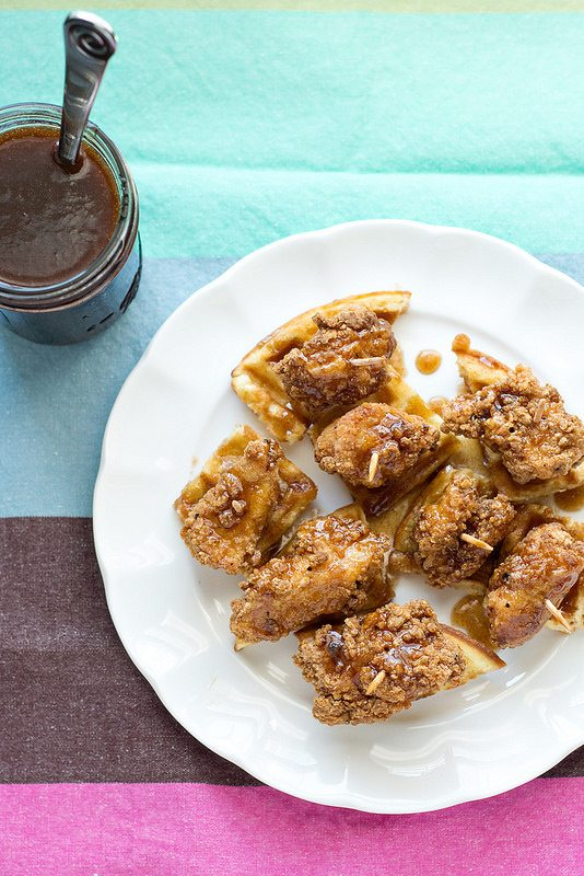 Fried Chicken & Waffles from