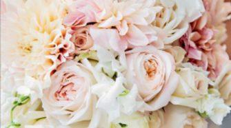using local wedding flowers