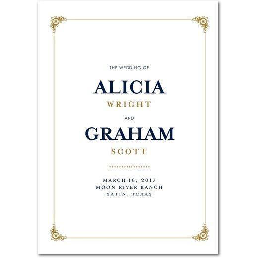 Gilded Scrollwork Programs
