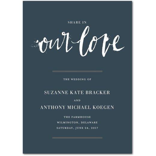 Spectacular Splatter Wedding Programs Templates