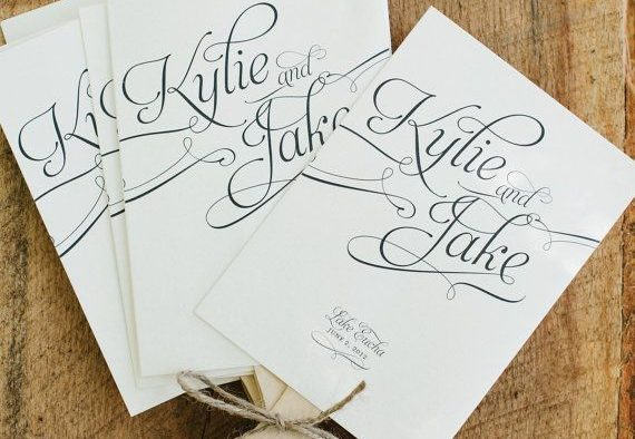 free wedding program ideas