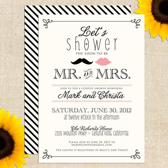 Free Bridal Shower Invitation Templates  Free Bridal Shower Invitations Templates