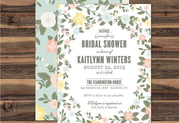 free bridal shower invitations