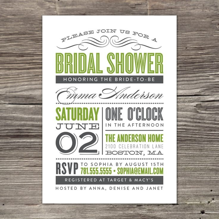 bridal shower invitations source httpwwwpinterest compin222435669068272186