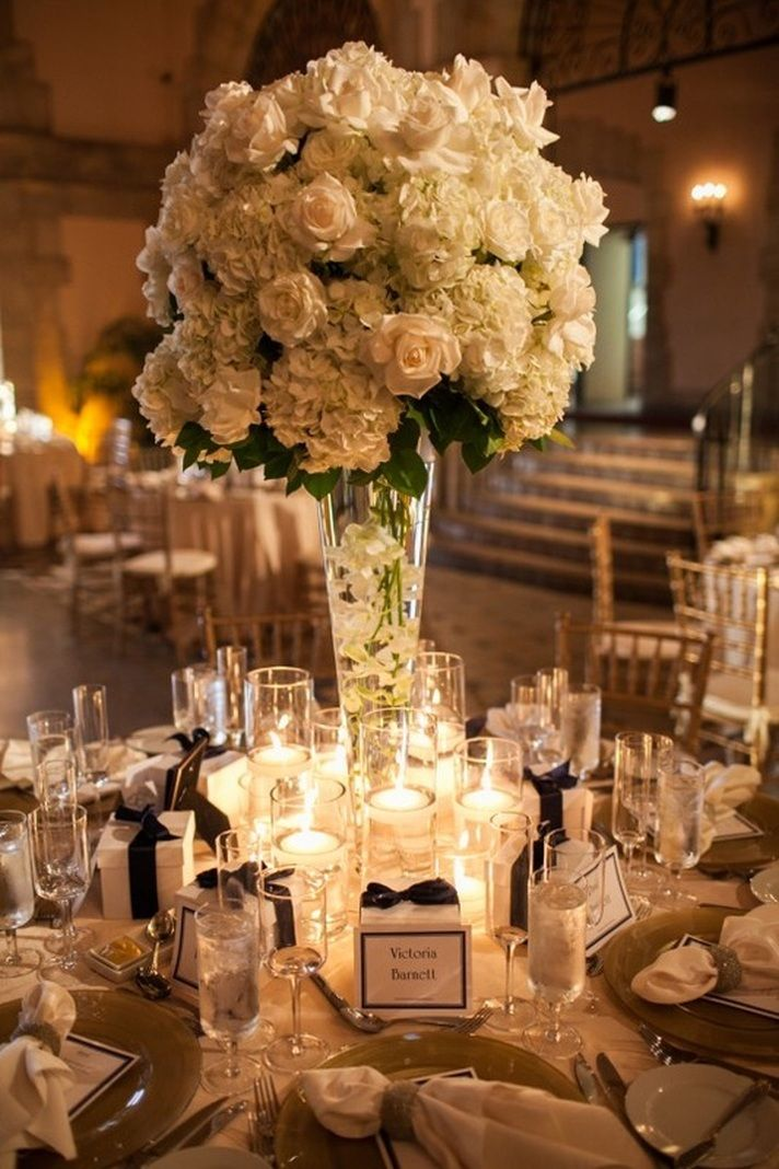 Stunning wedding centerpiece ideas that won 39 t make you for Wedding decorations centerpieces