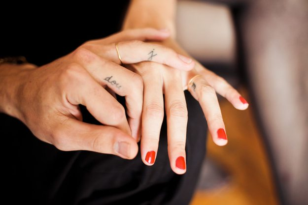 0980206245dc0 Your Guide to Wedding Ring/Band Tattoos | | TopWeddingSites.com