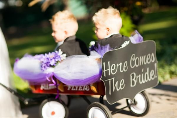 wagon for wedding