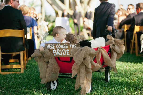How to Decorate a Red Wagon for a Wedding TopWeddingSitescom