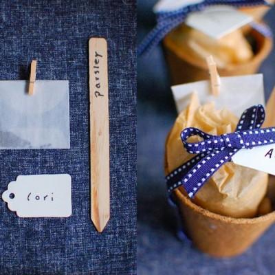 seed kit wedding favors