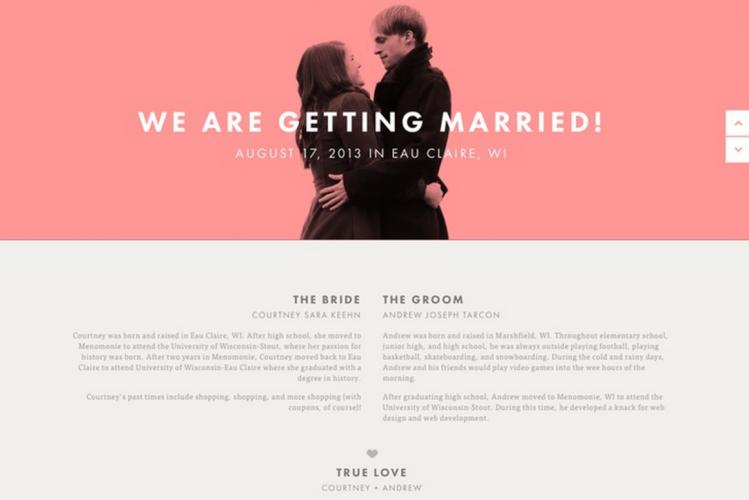 weebly wedding website