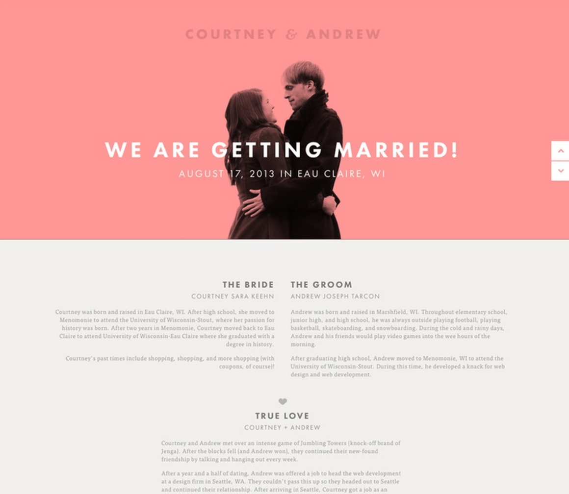 weebly wedding website