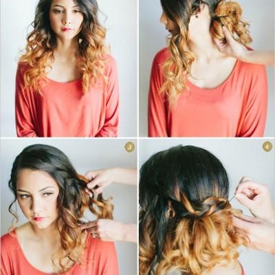 diy wedding hair styles