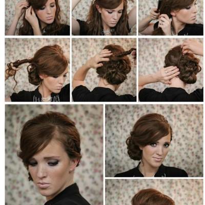 easy diy wedding hair