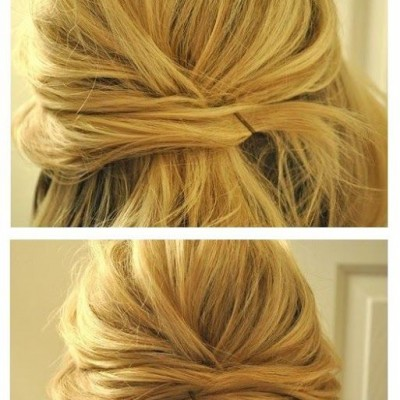 DIY wedding hairstyling