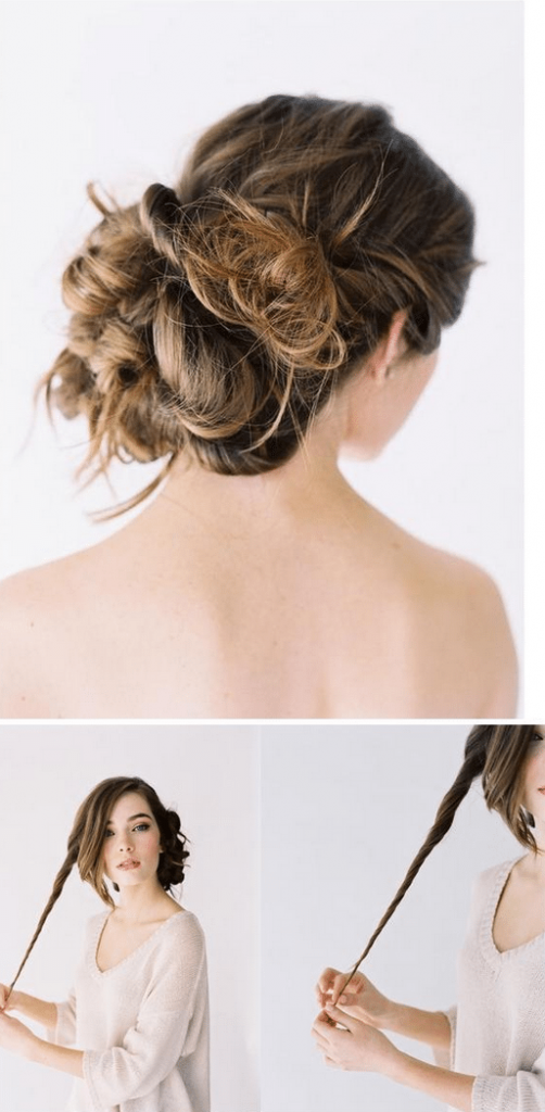 diy wedding hair