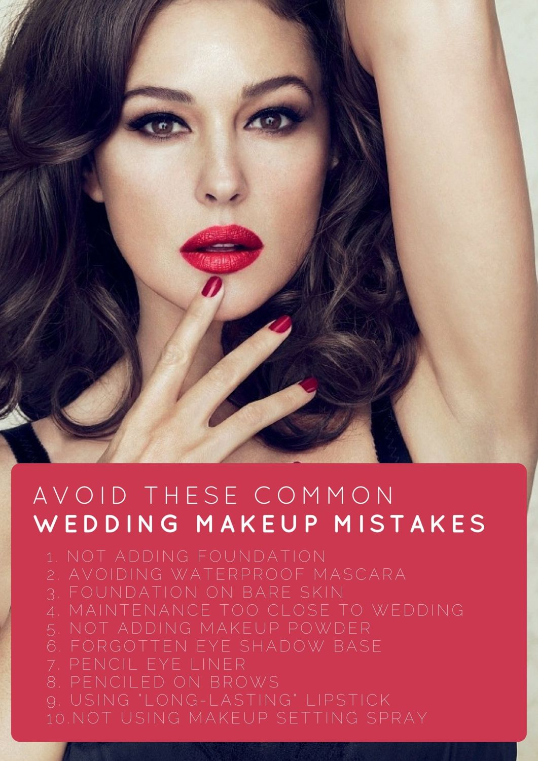The Top 10 Wedding Makeup Mistakes… And How to Prevent Them ...
