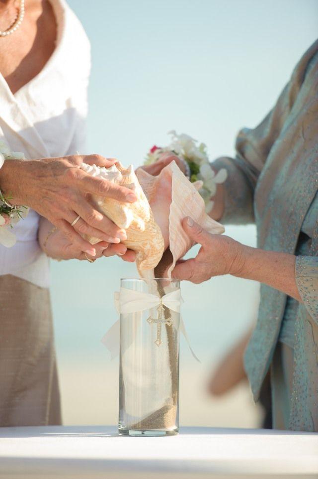 sand ceremony unique wedding