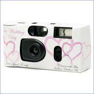 Disposable Cameras At The Reception