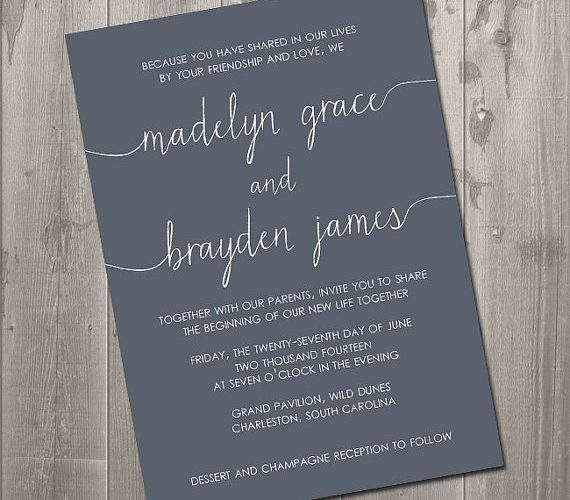 DIY wedding invitation tips