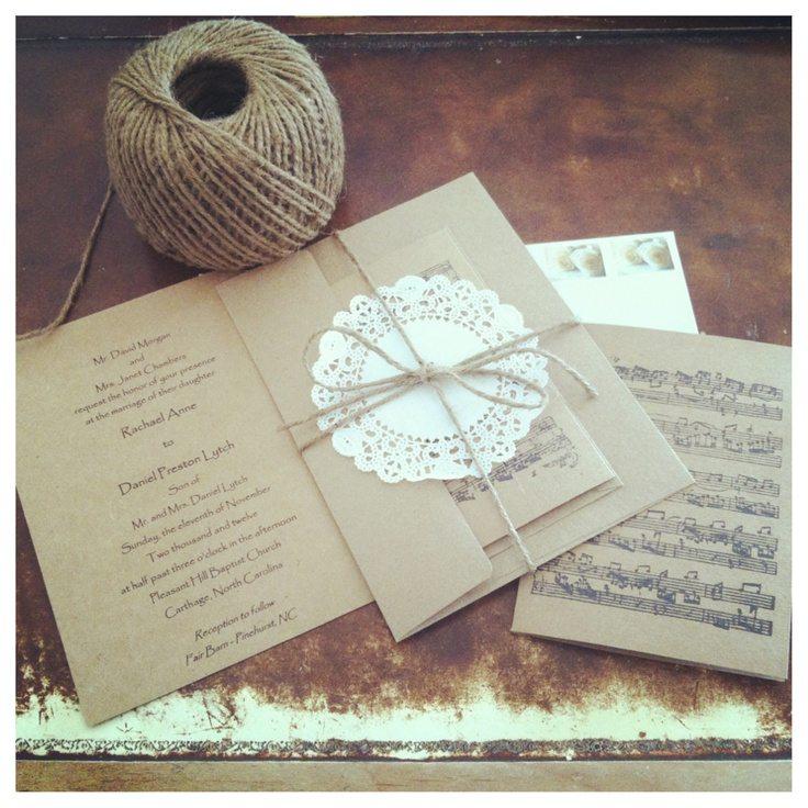 blank invitations