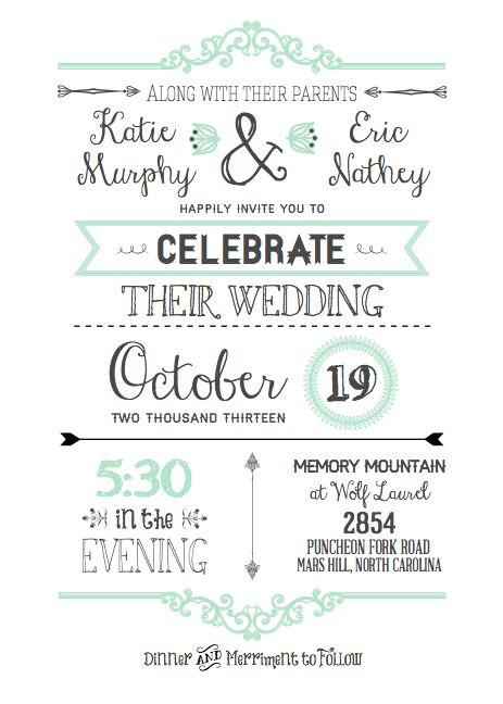 wedding invitation diy