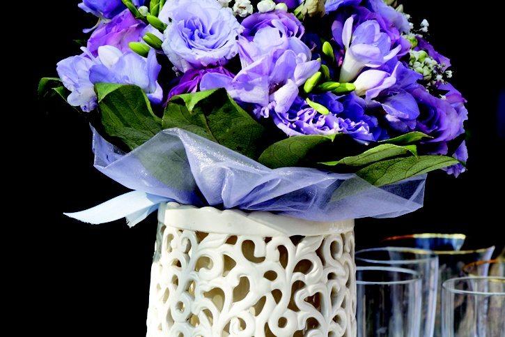 wedding violets