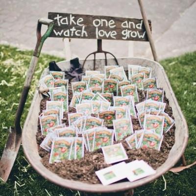 garden themed wedding
