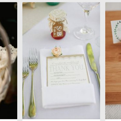 Tips for wedding favors