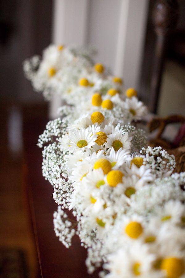 daisy wedding theme ideas