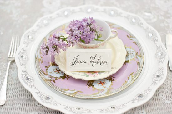 tea cup wedding favor