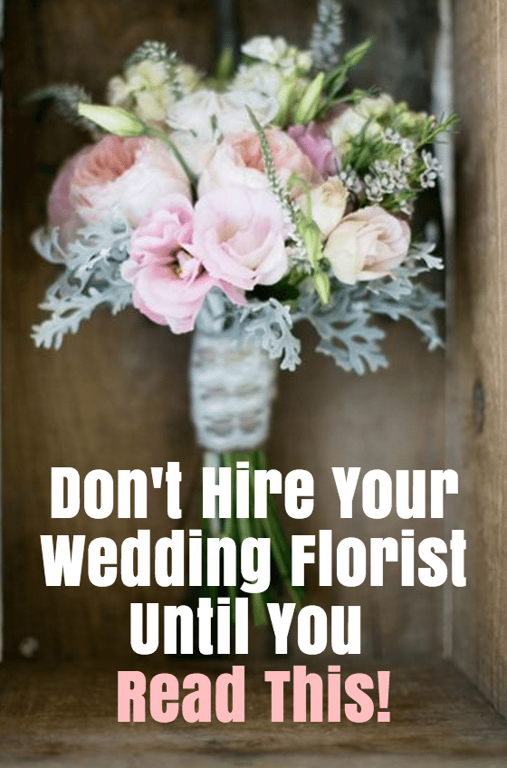read this before hiring florist