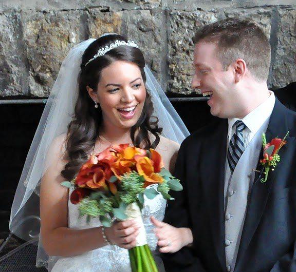 Photojournalistic style wedding photography