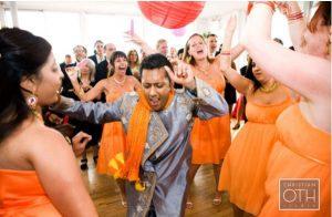 multicultural wedding reception