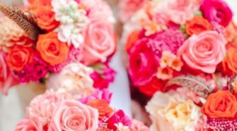 ways to save money on wedding flowers