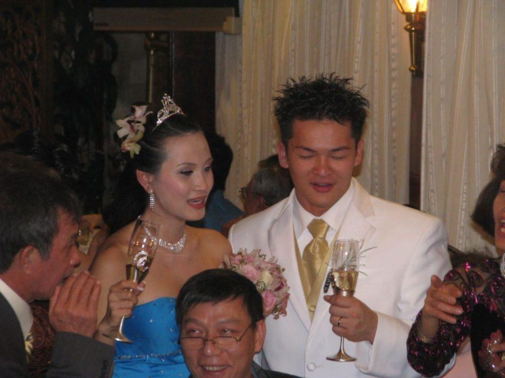 Vietnamese Wedding Couple
