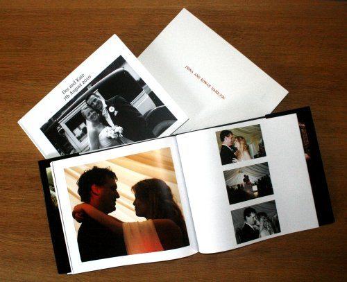 coffee table wedding photo books