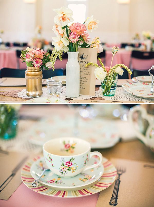 High Tea Kitchen Tea Ideas