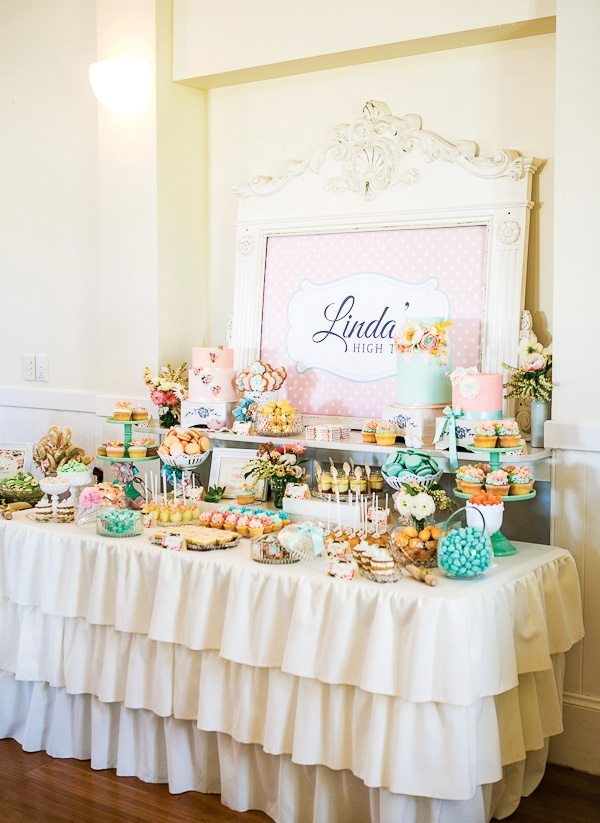 high tea themed bridal shower