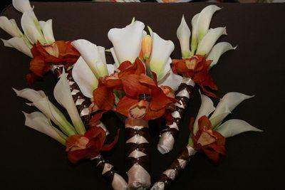 Hand Tied Silk Wedding Bouquet